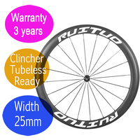 Good quality Carbon bike wheels 55mm 3 years warranty straight pull bicycle clincher tubeless wheel R36 cearmic DT hub|Bicycle Wheel|   -