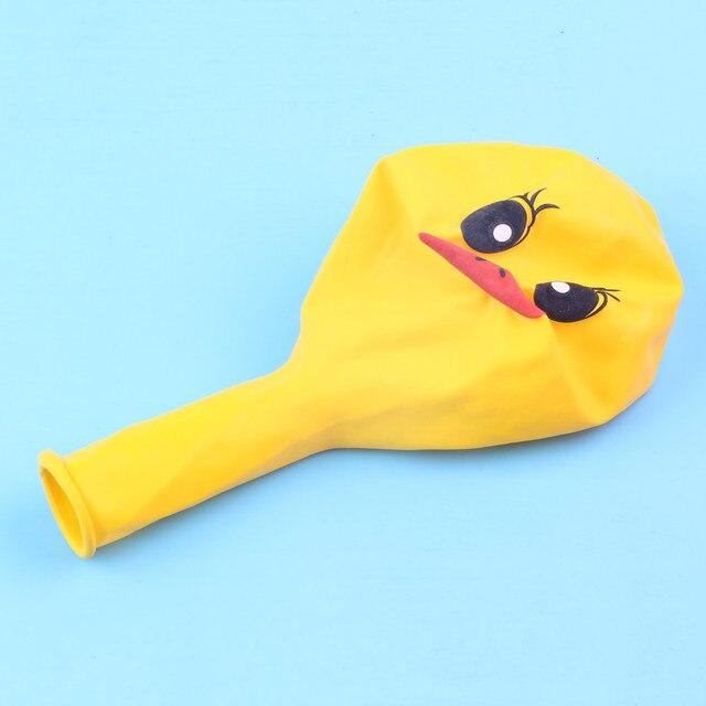 XXYYZZ-ballon canard de 12 pouces 2.8g | Ballon imprimé en Latex jaune et Animal de dessin animé, ballons de décoration pour fête danniversaire, 20 pièces/lot
