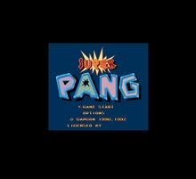 Super Pang 16 Bit Big Gray Game Card For NTSC USA Game Console