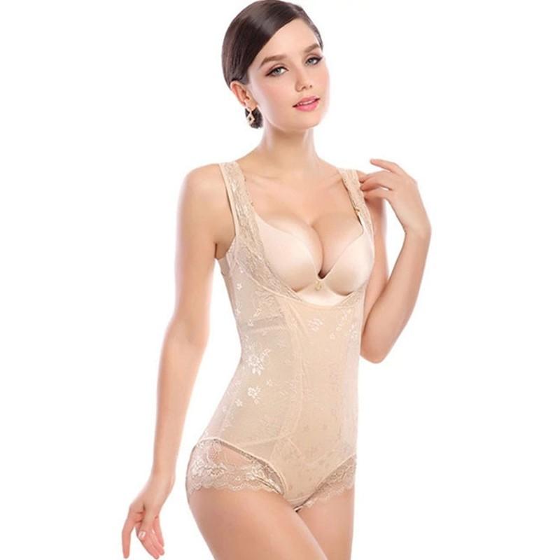 CYHWR-Seamless-Shapewear-Underwear-Medium-Slimming-Dobby-Bodysuits-Thin-Shaper-for-Women