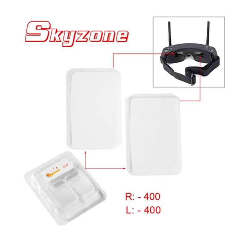 Hot Sale Skyzone -200/-400 Myopia Lens fFr SKY02S V+ FPV Goggles FPV System Transmission skyzone sj h01 960 1080 2d 3d fpv goggles