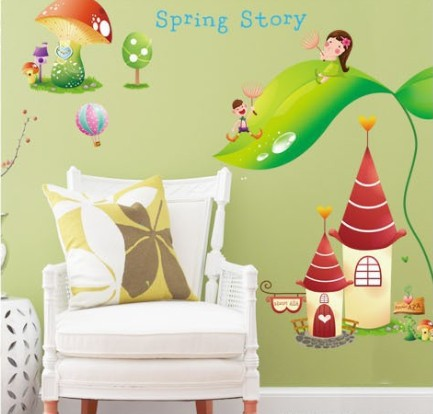Outstanding Princess Castle Wall Decoration Gallery - Wall Art ...