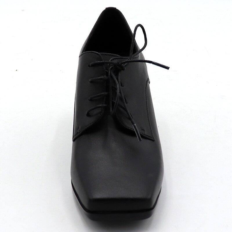 In bianco e nero singolo, scarpe col tacco alto, di modo professionale casual dating - 2