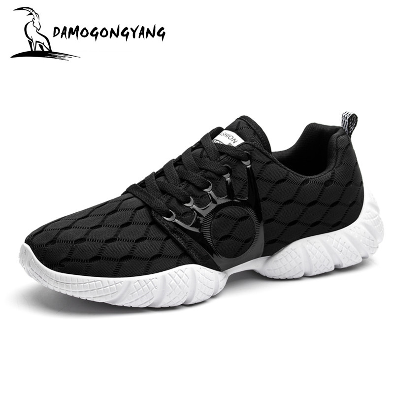 new shoe men zapatillas hombre sapato masculino zapatos hombre sneakers men shoes sales casual chaussure Breathable mesh Lace-Up