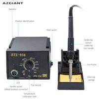 AZGIANT Rework Soldering Station Adjustable Thermo regulator Soldering Iron Hot Air Desolder Gun Welding Solder Iron Tool Kit
