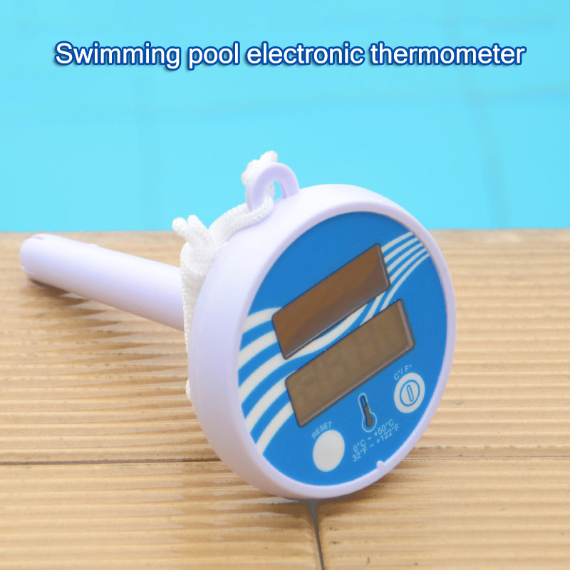 Solar Powered Pool Thermometer Digital Floating Swimming Pool Water Temperature Measuring SPA Pond B2Cshop