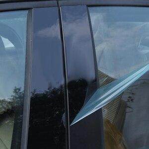 Image 5 - Postes de plástico para ventana de cemento conjunto de molduras para moldura de cubierta de coche, para Mazda 3 Axela 2014 2015 2016 2017, 10 Uds.
