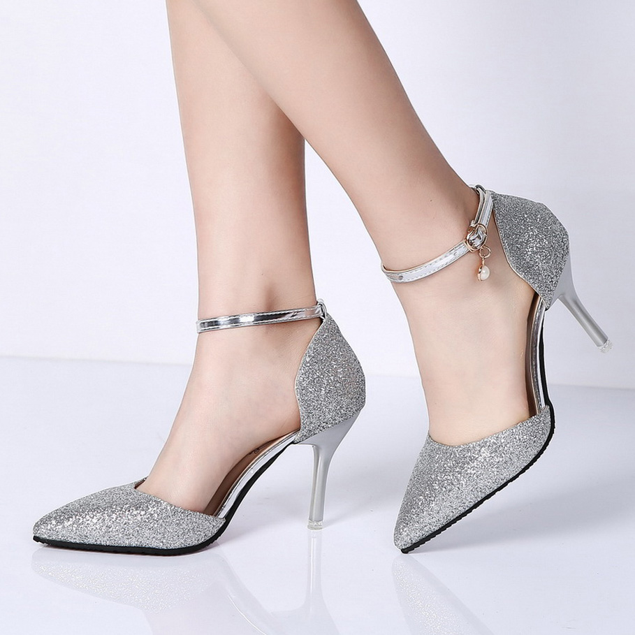 Silver Dress Shoes for Women Promotion-Shop for Promotional Silver ...