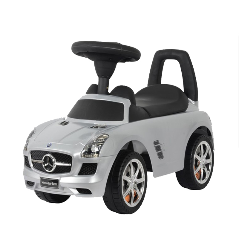 Simulation children four-wheel ride on car, 4-color optional, the music quality is great infant shining swing car mute flash belting leather music environmental quality children s toy car