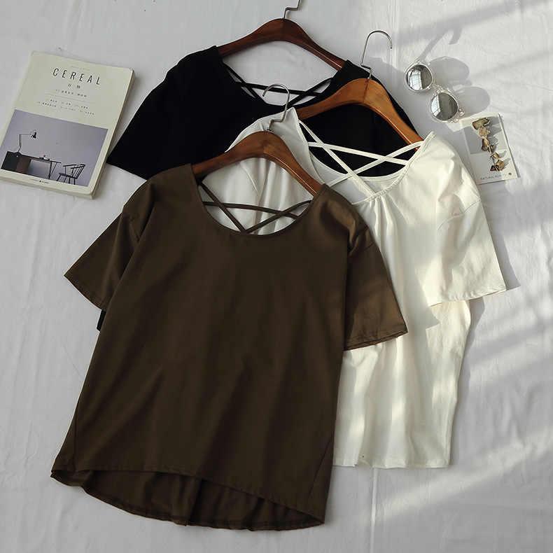 2019 פוליאסטר מלא מוגבל מכירה רגיל Kpop Unicorn נשים משלוח חינם האביב קוריאני מוצרים חדשים מוצק Loose שרוול חולצה