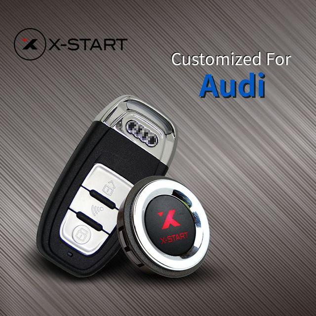 Audi Key Replacement Cost: X Start Keyless Go Smart Key Keyless Entry Remote Start