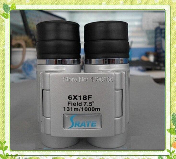 6x18mm Portable Binocolo Telescope font b binocular b font glasses for Outdoor Sports Travel nature observing