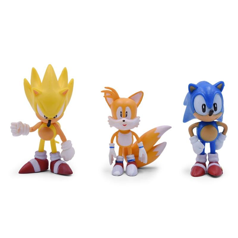 ALI shop ...  ... 32955906415 ... 4 ... Sonic Anime Doll Action Figure Toys Box-Packed 6PCS/SET 2st Generation Boom Rare PVC Model Toy For Children Characters Gift ...