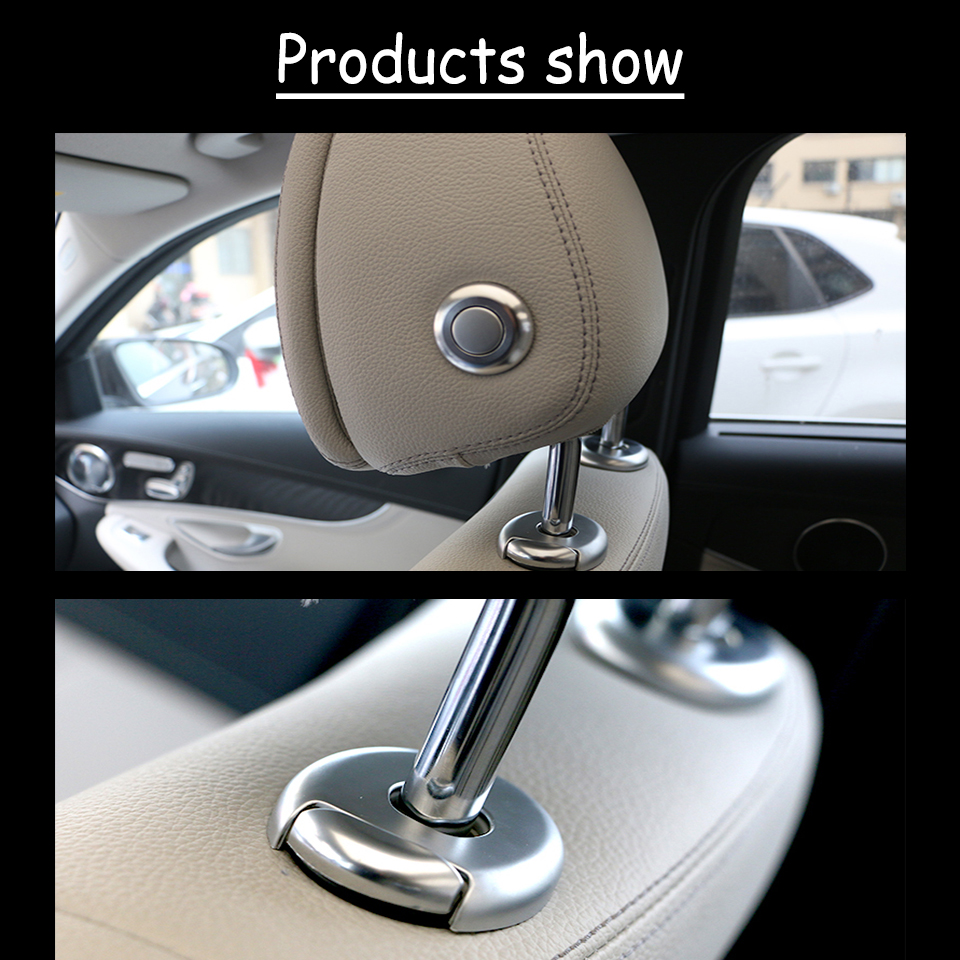 Automobiles & Motorcycles Boomblock Auto Car Headrest Chair Adjustment Button Ring Stickers For Bmw F30 F34 F35 3 Series 320i 316i Interior Accessories