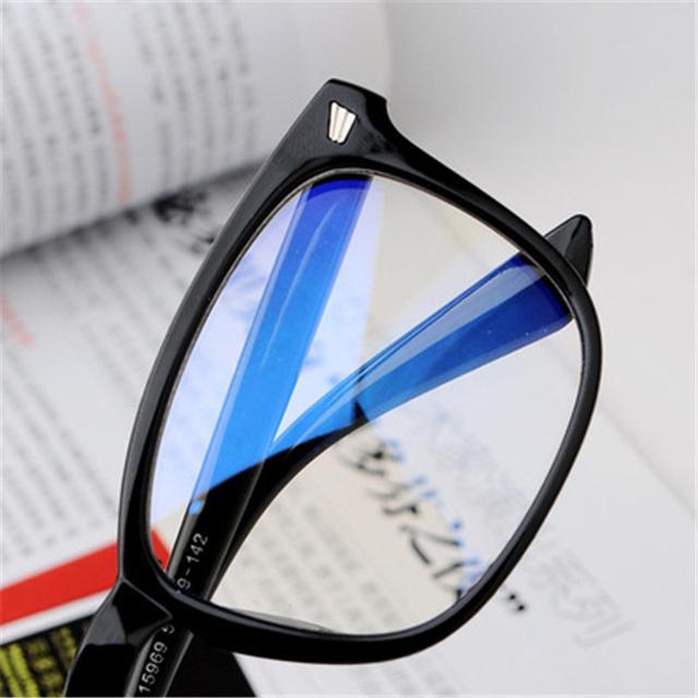 Fashion Computer Glasses Women Men Anti Blue Light Stråling