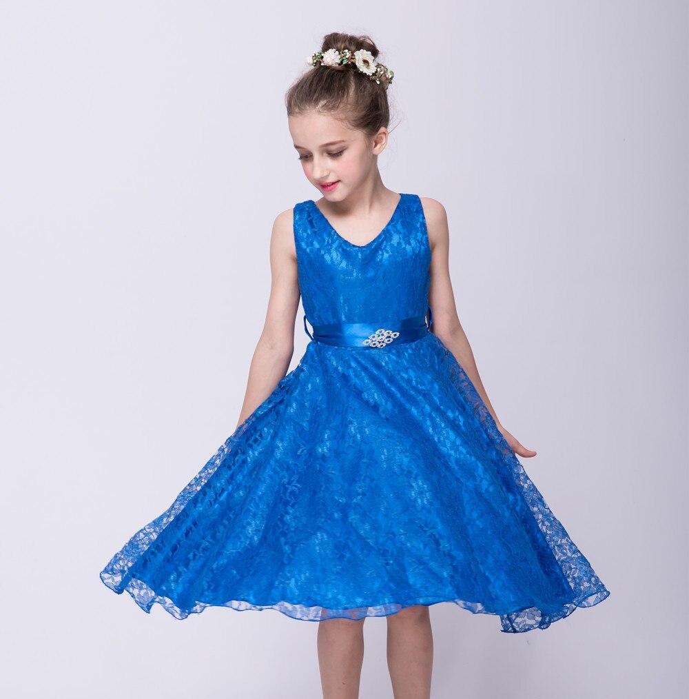 Evening Children Dress Kids 25