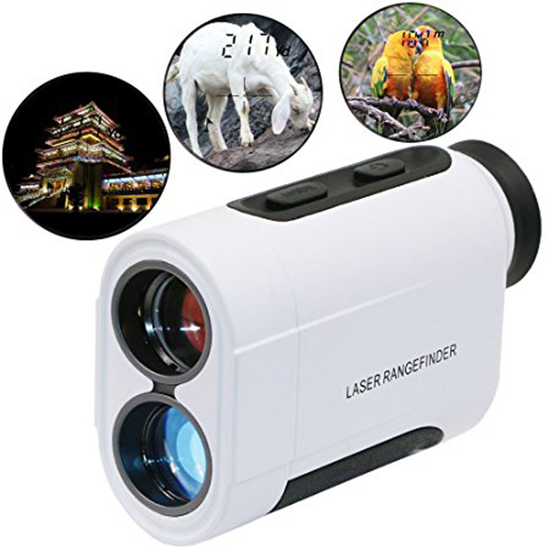 New 600m 6X Telescope Laser Rangefinder Laser Distance Meter Handheld Monocular Golf Hunting Range Finder bohemian bell sleeve floral midi dress