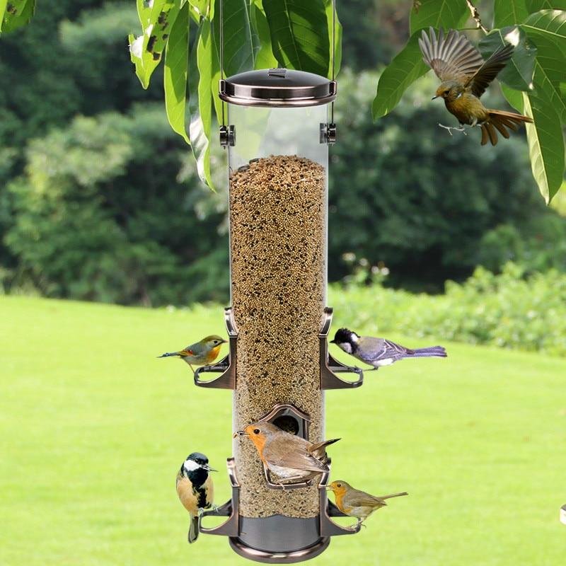 Bird supplies outdoor rain automatic feeder balcony ornamental bird magpie bird guide ZP12181900Bird supplies outdoor rain automatic feeder balcony ornamental bird magpie bird guide ZP12181900