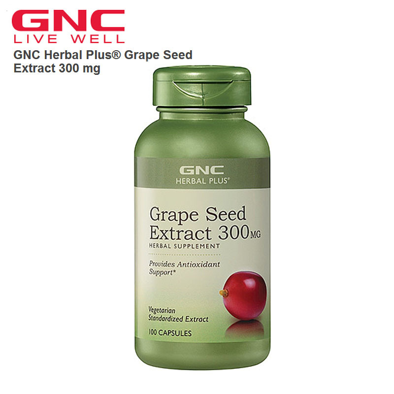 Free shipping American Health Grape Seed Extract 300 mg 100capsules 100% pure fenugreek seed extract methi extract