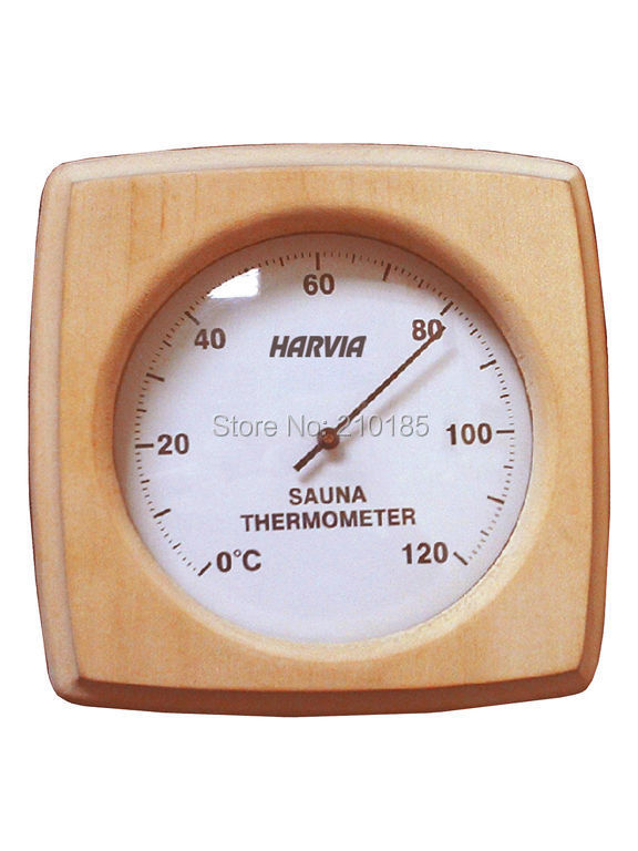 Original Harvia Free shipping Thermometer (SAC92000) sauna accessories free shipping original harvia bc90 9 0 kw internal controlled and a full set burned pails