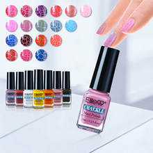 Elite99 Baru Pigmen Retak 7 Ml Uv Gel Nail Polish Nail Art Gel Varnish Crackle Nail Polish Manicure Profesional lacquer(China)