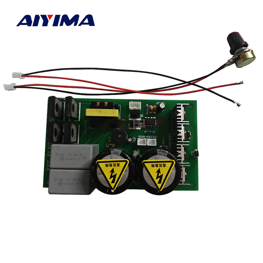 купить Aiyima Inverter Board Four Silicon Inversor High Power Inverter Rear Module онлайн