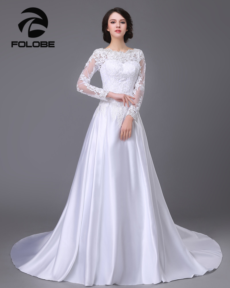 see through appliques lace robe de mariage a line wedding dresses. Black Bedroom Furniture Sets. Home Design Ideas