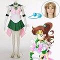 Athemis anime sailor moon makoto kino/sailor jupiter súper s dress cosplay por encargo cualquier tamaño de alta calidad