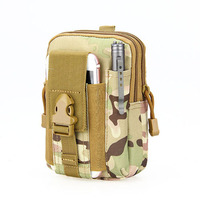 New Tactical 10 Color Men Molle Water Hunting Nylon Bags Waist Pouch For Hunting Cycling CL6-0089