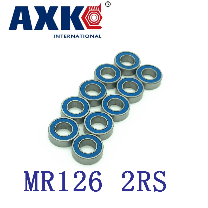 Factory Direct Sale High Quality Bearing ( Blue Rubber Sealing Cover ) Mr126-2rs L-1260dd Wbc6-12 Mr126 2rs 6*12*4 Mm Abec-5 new premium promotional yu europe d41x d341x flange rubber seal butterfly valves factory direct quality assurance