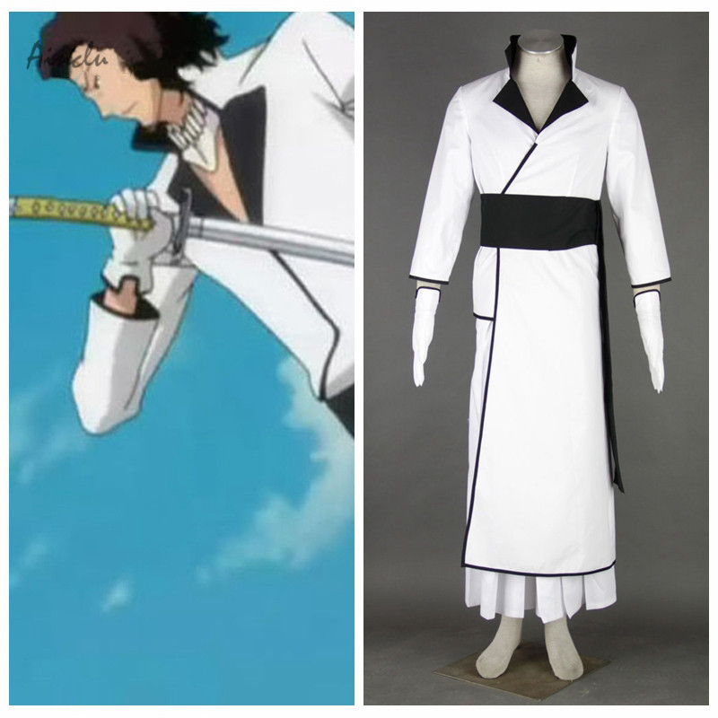 Ainclu Free Shipping Adult Costume Bleach Coyote Starrk Cosplay Costume For Halloween Party