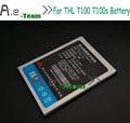 Para THL T100s bateria 100% NOVA thl BT-01 2700 mAh Rechangeable bateria Para THL T100s T11 THL Telefones Celulares Inteligentes-Em estoque