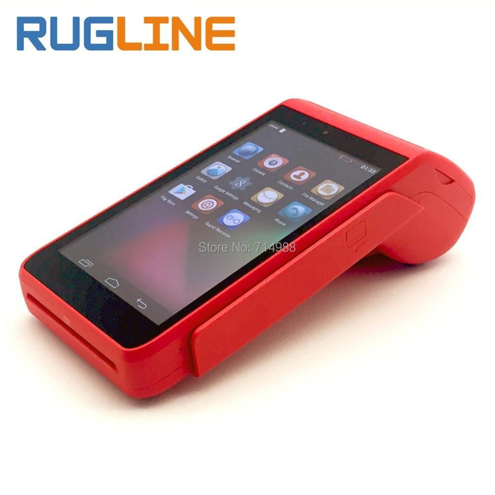 Горячая Распродажа 5 дюймов сенсорный экран планшета смартфон ручной Android 5.1 POS тер ...