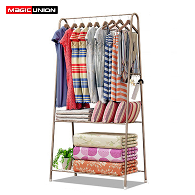 US $43.99 50% OFF|Magic Union Triangle Coat Rack Floor standing Hanger  Assembly Clothes Rack Bedroom Metal Simple Modern Hanger Wardrobe-in Coat  Racks ...