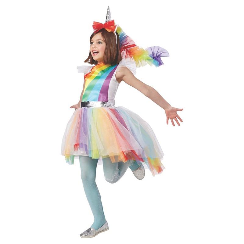 طفل الفتيات الملونة السحرية الأشكال - ازياء كرنفال