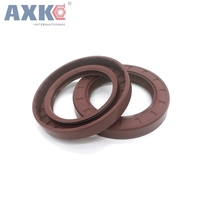 AXK 10PCS Fluorine rubber Fluororubber skeleton oil seal 42*55/56/60/62/65/68/70/72/75*5/7/8/10/12