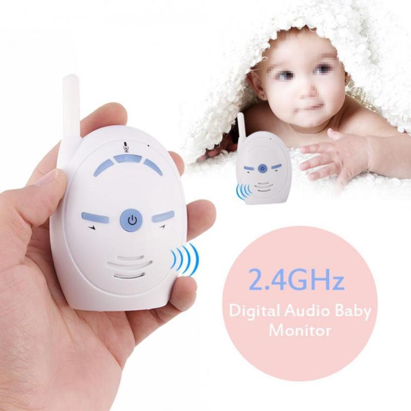 baby monitor 2 4ghz wireless infant audio walkie talkie. Black Bedroom Furniture Sets. Home Design Ideas