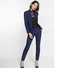 88abe0f02d Dostosowane kobiet własnej uprawy temperament biuro garnitur dwuczęściowy  garnitur (kurtka + spodnie) panie biznes formalna odzi.