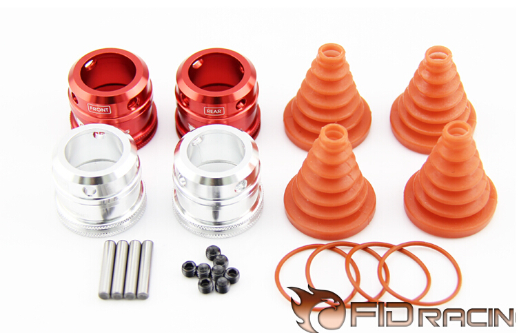 FID Quick Coupling Dirt-Proof Boot For LOSI 5ive-T billet rear hub carriers for losi 5ive t