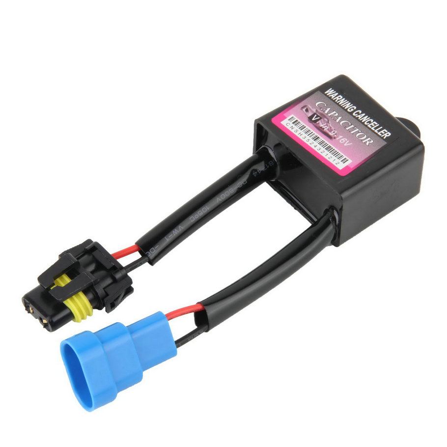 Xenon HID Kit Error Warning Canceller H1 H2 H3 H4 H7 H8 H9  880 881 889 9004 9005 9006 9007 Canbus Capacitors Computer Decoder~ c7 hid can bus car xenon light error warning canceller decoder capacitor canbus capacitors computer decoder