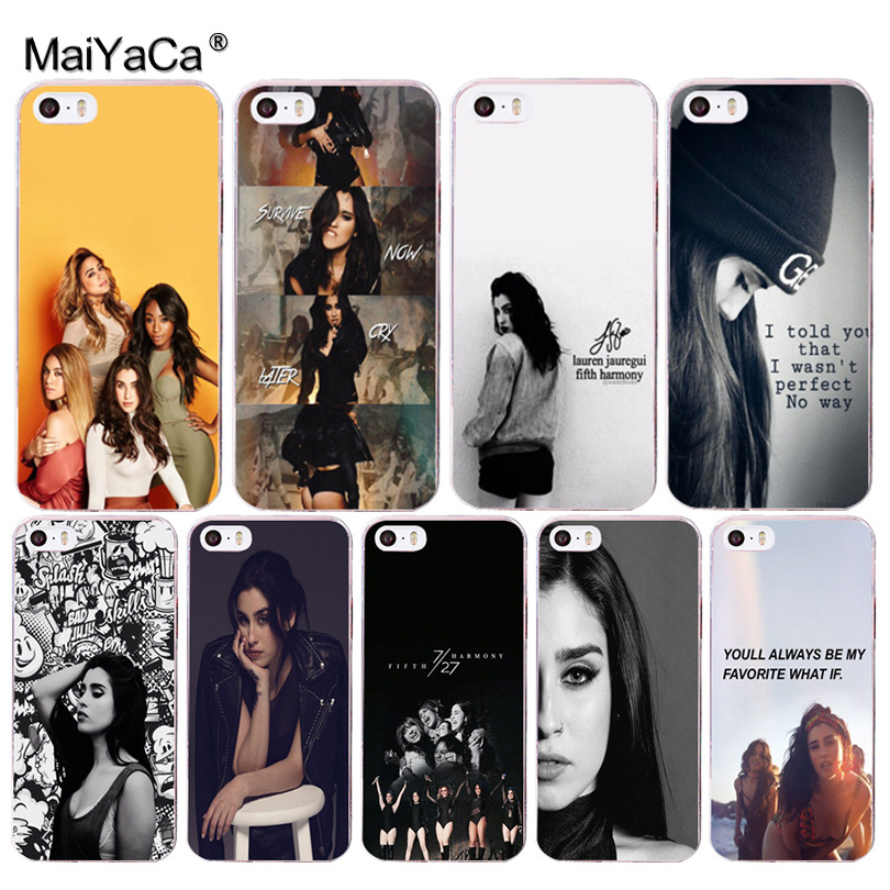 MaiYaCa 5h Fifth Harmony <font><b>Lauren</b></font> Jauregui Coque Shell Phone Case for iphone 11 Pro 8 7 6 6S Plus X 5 5S SE Cover XS XR XSMAX image