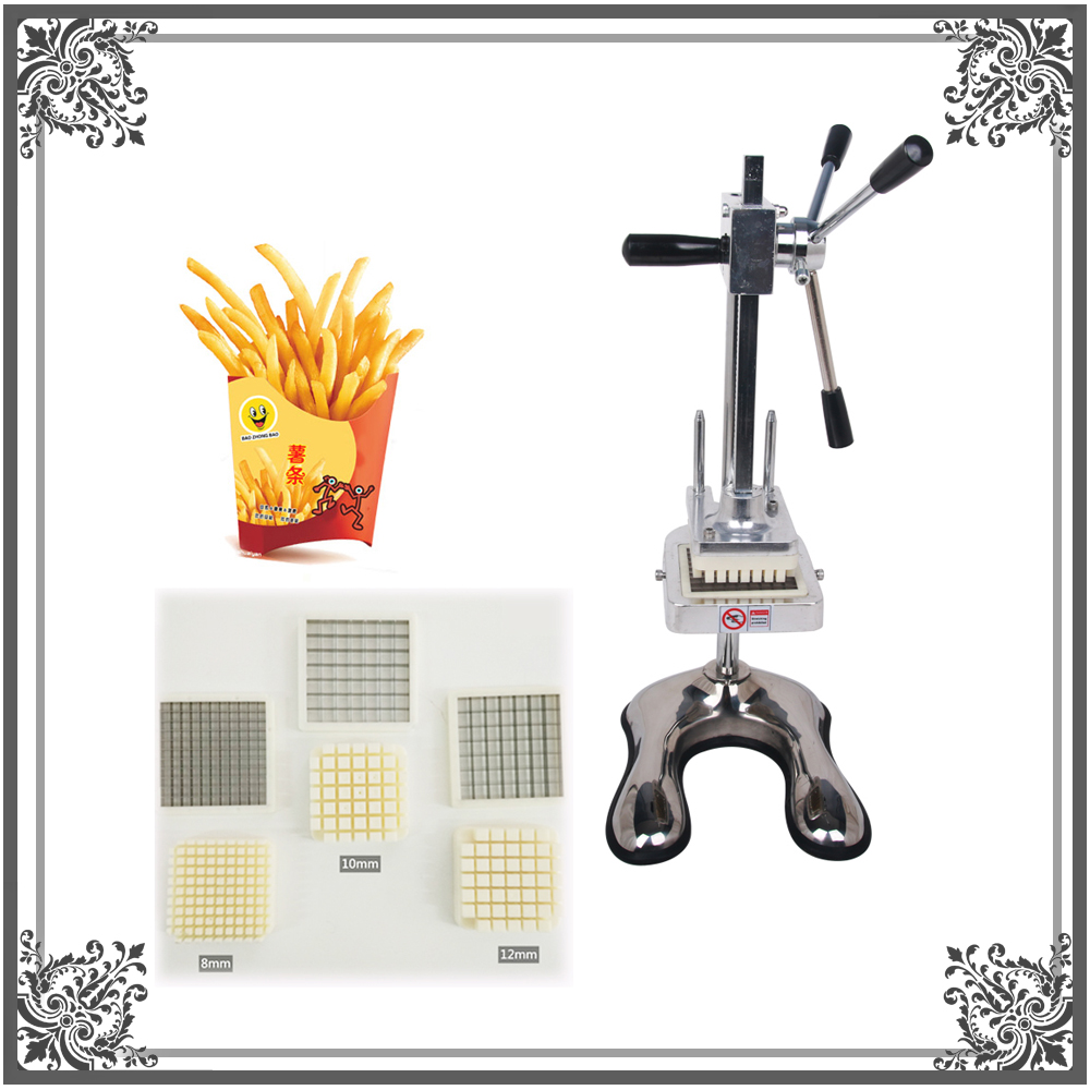 ITOP Commercial French Fries Cutter Vegetable Cutting Machine Potato Slicer картофелерезка stainless potato chipper french fries slicer chip zesters slicer fg08082 ja