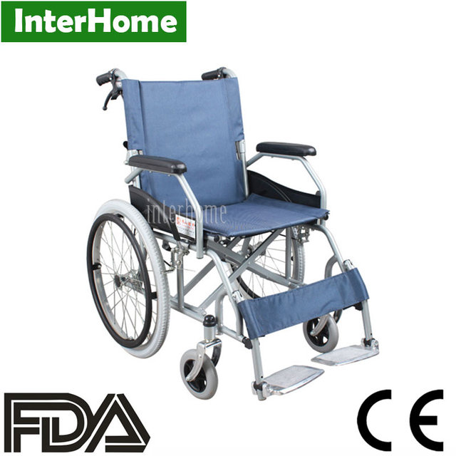 portable wheel chair turquoise side best price folding back wheelchair competetive and high quality steel manual medical ce fda approved