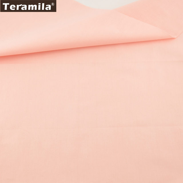 teramila baumwollstoffe neue 100 tissue solide licht orange muster bettwsche patchwork dekoration hochwertiger stoff textil - Bettwasche Muster