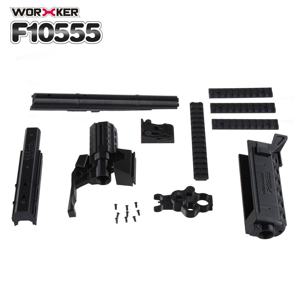 3D Impression Modularisation NO 105 AK Série Type Long Modifié Kit Baril Kit Approprié pour Nerf Stryfe Jouets (Type un)