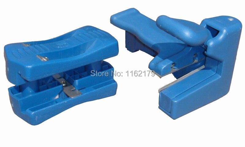 Machine à baguer les bords/dispositif de coupe bloc dispositif bois Double bord/tête et queue tondeuse pour menuisier PVC reliure bande