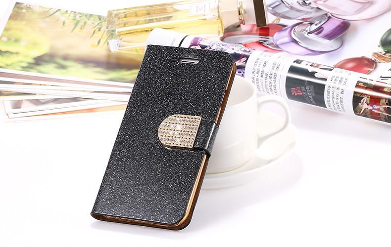 Kisscase dla iphone 5s case glitter bling skórzane etui dla iphone 5 5s se 6 6 s 7 plus stań portfel pokrywa dla iphone 7 7 plus SE 26