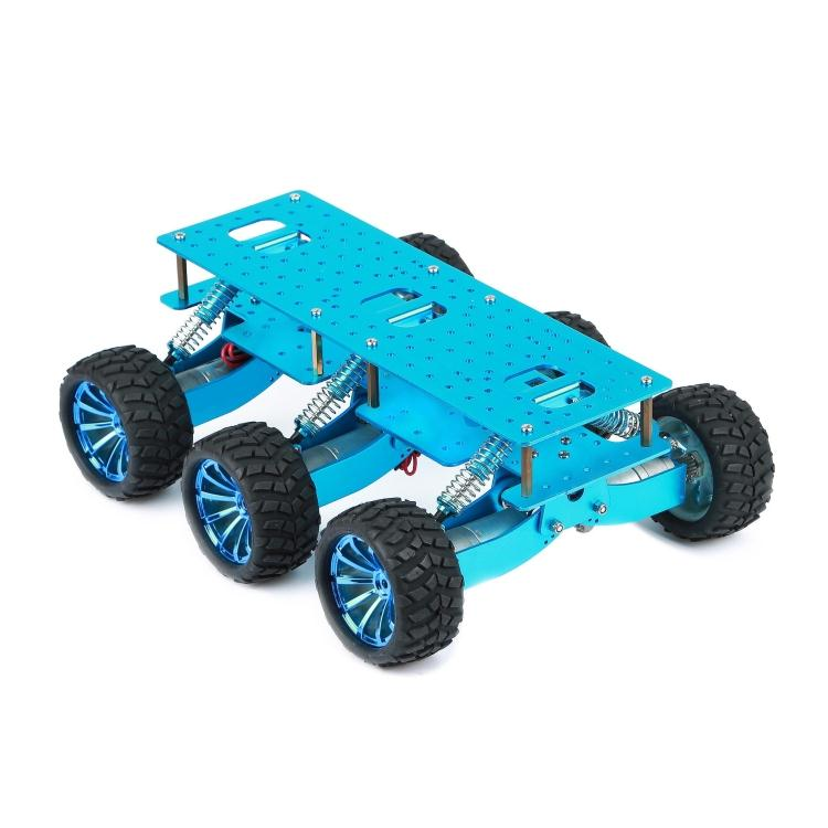 6WD Smart voiture châssis support choc pour Arduino WIFI voiture tout-terrain escalade framboise Pi