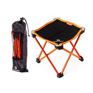 Image 1 - Bahçe Sandalyeleri Taşınabilir Açık Balıkçılık katlanır kamp sandalyesi Oxford Alüminyum Alaşım Plaj Seyahat Katı Küçük Koltuk 2 Boyutları