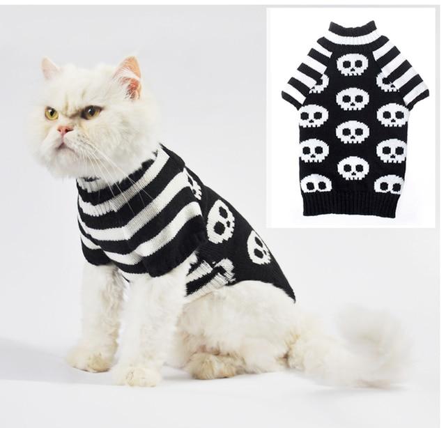 Geist Pattern Häkeln Katzen Pullover Pullover Aran Haustiere Hund ...